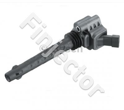 Single Fire Ignition Coil P65, w/o power stage. Genuine Bosch