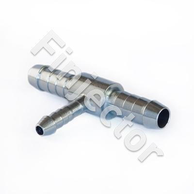 T-HOSE CONNECTOR 12/12/12 mm, galvanized steel