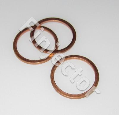 (MKS-C105) COPPER JOINT RING 18X22