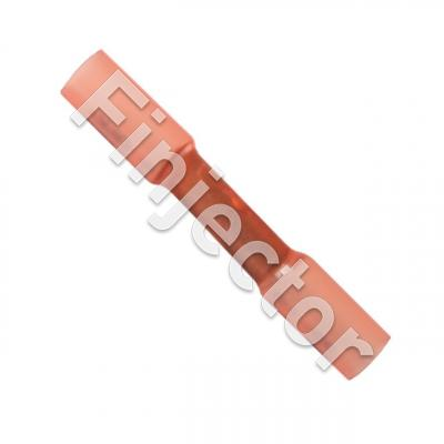 Heat shrink cylindric terminal red for wire size 0.5-1.0mm2