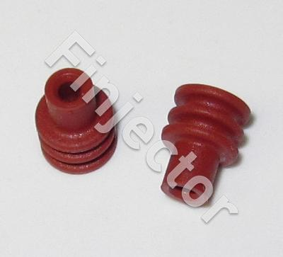 Delphi Dark Red Cable Seal, Metri-Pack 150 Sealed, 1 - 2.5 mm2