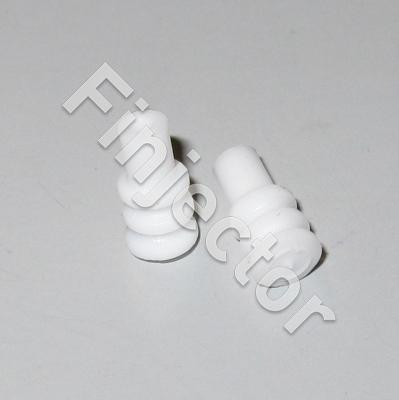 White Cavity Plug (3.9/7.8 mm) (Junior Micro Timer)