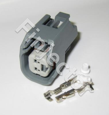 Connector SET EV6 / EV14 USCAR with terminals and seals (D)