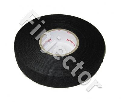 "Wiring harness tape, ""Fleece"" style, soft surface, w. 19 mm"