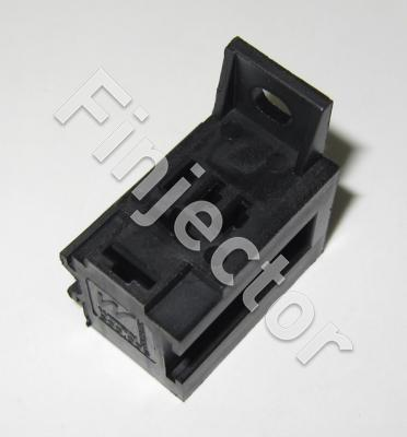 Relay holder for Micro relays (2 X 6.3 mm + 3 X 4.8 mm)