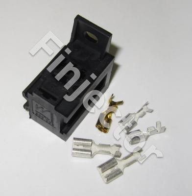 Relay holder SET for Micro relays (2 X 6.3 mm + 3 X 4.8 mm)