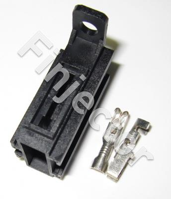 Fuseholder set for blade fuse, 1.5 - 2.5 mm2, can be joined toge