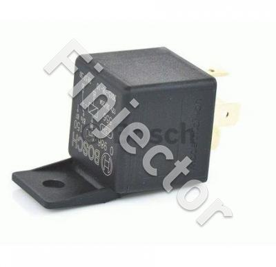 Change over relay 12V 30/20A, with holder, Bosch 0986AH0150
