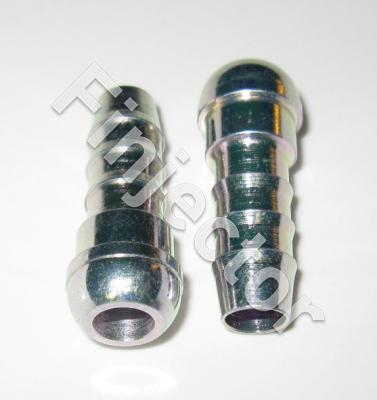 Conical nipple for 8 mm polyamide tube