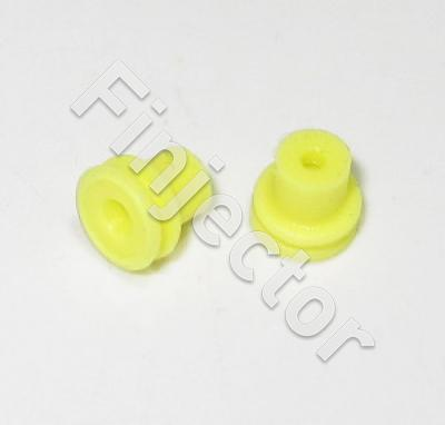 Yellow Individual Loose Round 1 Way Cable GT Seal