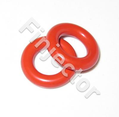 Bottom O-RING for EV14 injectors, RED, THICK I.D. 8.3 mm, O.D. 15.5 mm