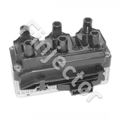 6 cyl. ignition coil with integrated power stages