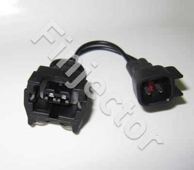 Connector adapter lead EV1 (Jetronic) to USCAR type (male)