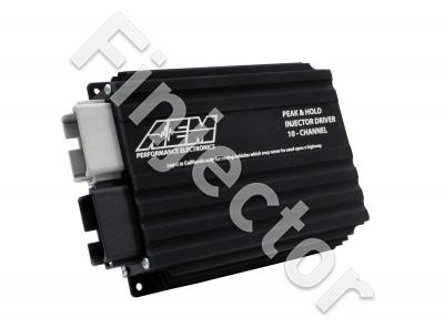AEM 10-channel injector driver kit, for using low-ohm injectors