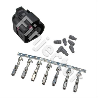 Bosch LSU 4.9 Wideband Connector Kit for 30-4110. Includes:: Bosch LSU 4.9 Connector, 7 X Wire Seals & 7 X C