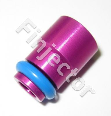 Bottom adapter set for EV14 injectors with long spray end (PURP)