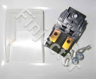 Fuse holder for MAXI fuse with assembling parts, MAX 60 A