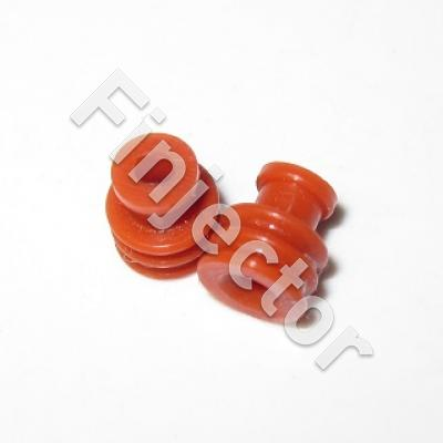 Seal for Sumitomo, red, up to 2.5 mm2. Diameter 6.5 mm / Length 7.4 mm
