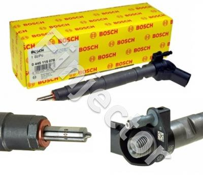 Common Rail Injector, NEW, (Bosch 0445115078), AUDI piezo