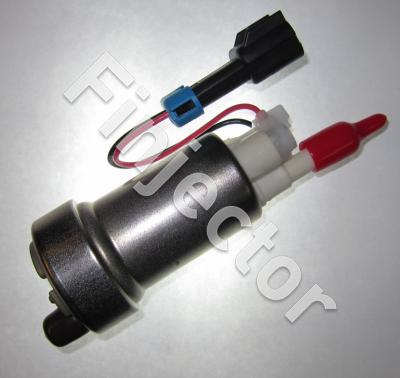 Genuine High flow Walbro intank fuel pump (E85 and fuel compatible), 416 L/h.
