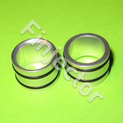 Fuel rail interchangeable spacer 14mm to 11mm
