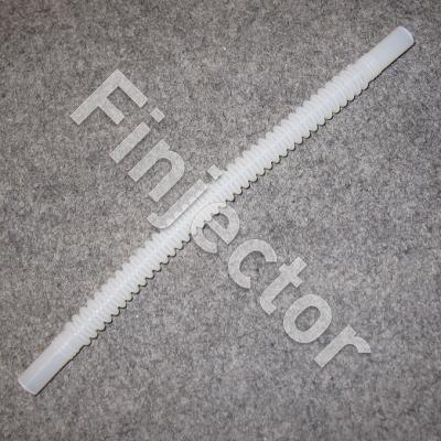 IN-TANK CONVELUTED FUEL HOSE (PLASTIC) 260 mm, 7.5 - 7.5 mm ends