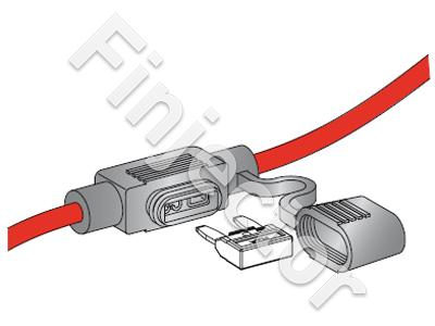 Fusebox for1 GM MINI, with 120mm 4mm2 cable