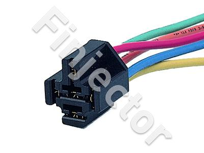 5-pole connector for Relays