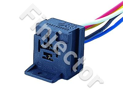 5-pole extendable Relay holder