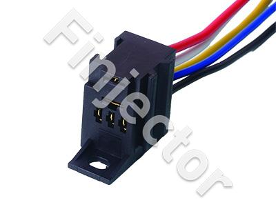 Holder for Micro Relay, 5-pole, wires