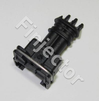 2 pole female Jetronic connector housing, MCP terminals
