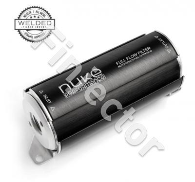 Fuel Filter 100 micron AN-8 (stainless filter element) (NUKE 200-01-202)
