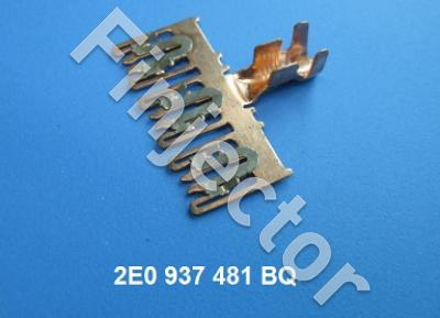 CONTACT plate for fuse box, for 3 fuses. 4-6 mm², VAG+Mercedes