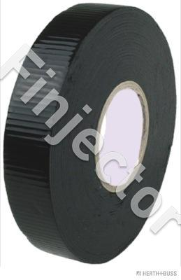 Vulcanising tape, W. 19 mm, L. 5 m, black, up to 90 C