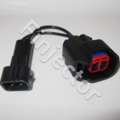 Connector adapter lead, USCAR (injector side) to Honda / Hayabusa type