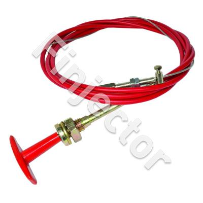 T PULL CABLE KIT 6ft Red (1.8 m) Including Cable Adjuster & S