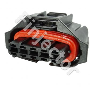 5 pole Compact connector 1.1m, Code 1, covered, BDK 2.8 (Bosch 1928403738)