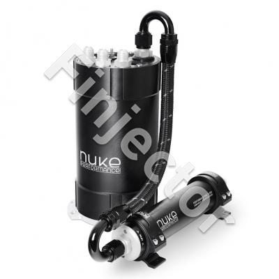 Nuke surgetank kit for one/two in-tank pumps. No pumps included